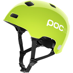 POC POCito Crane Helmet Kinder fluorescent yellow/green